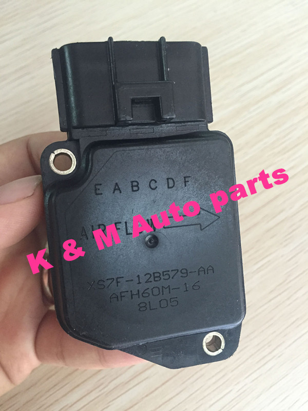 original AIR FLOW MASS METER XS7F12B579AA XS7F 12B579 AA AFH60M 16 fit for TRANSIT MODEO III 2.0 .