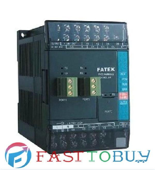 FBs-10MAR2-AC Fatek PLC 24VDC Digital input 6 relay output 4 System Unit 1 COM New Original free shipping brand new original plc digital input 36 transistor output 24 system main unit 1 com fbs 60mct2 ac 24vdc