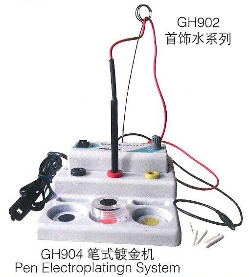 Caneta caneta sistema 220 V Rhodinette galvanoplastia Plater ouro galvanoplastia sistema