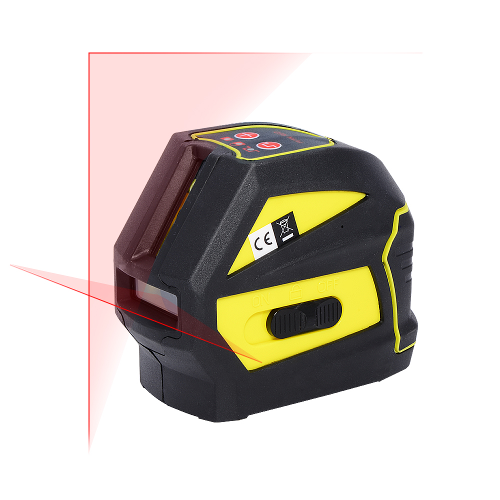 Firecore EK118R 2 Lines Laser Level Self Levelling ( 4 Degrees) 630nm-685nm 1V1H Cross Laser Line House Decorating Tools 2015 jl s xxxl brand new