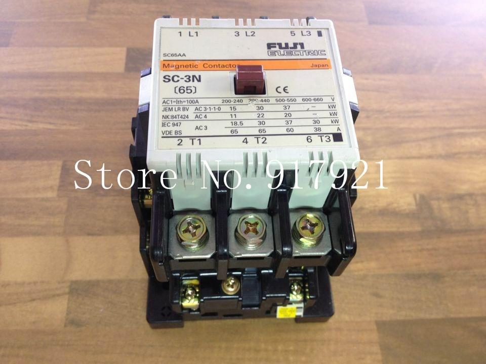 [ZOB] Fuji Fe SC-3N 65 100A AC contactor coil 220V (genuine) [zob] fe fc 0st z16 220v 20a contactor contactor fuji elevator genuine original 2pcs lot