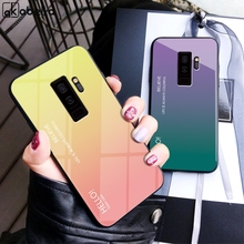 Glass Case For Samsung Galaxy S9 S8 Plus Note 8 9 Cases For Samsung A7 2018 J6 J4 J8 J2 Pro J5 J3 J7 2017 A9 A6S A6 A8 Plus for samsung galaxy note 9 8 a7 shockproof cover business cases for samsung s9 s8 a6 a8 plus j2 j3 j4 j6 j7 j8 soft silicone case