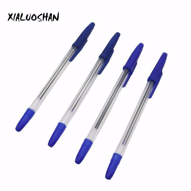 10 Pcs/lot Bullet Ballpoint Pen Ball-point Pen 0.7mm Blue Ink Dedicated Novelty Gift Zakka Material Office School Supplies 5