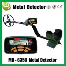 Ruso verde Cazador de Tesoros de Oro MD-6350 Treasure locator Buscador de detector de Oro detector De Metales con Alta señal