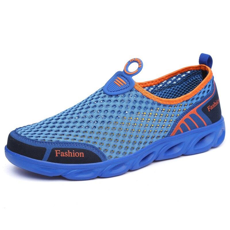 Summer Aqua Shoes Men Women Outdoor Breathable Mesh Beach ...