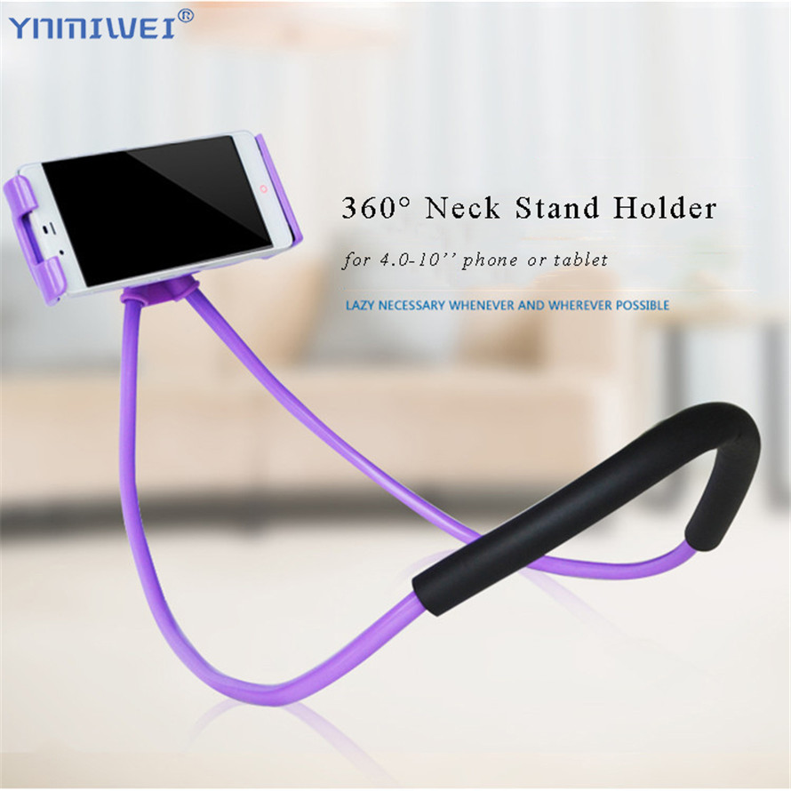Lazy Neck Phone Holder Stand For IPhone IPad Universal Phone Desk Mount Bracket For Samsung Xiaomi Flexible Holder Support