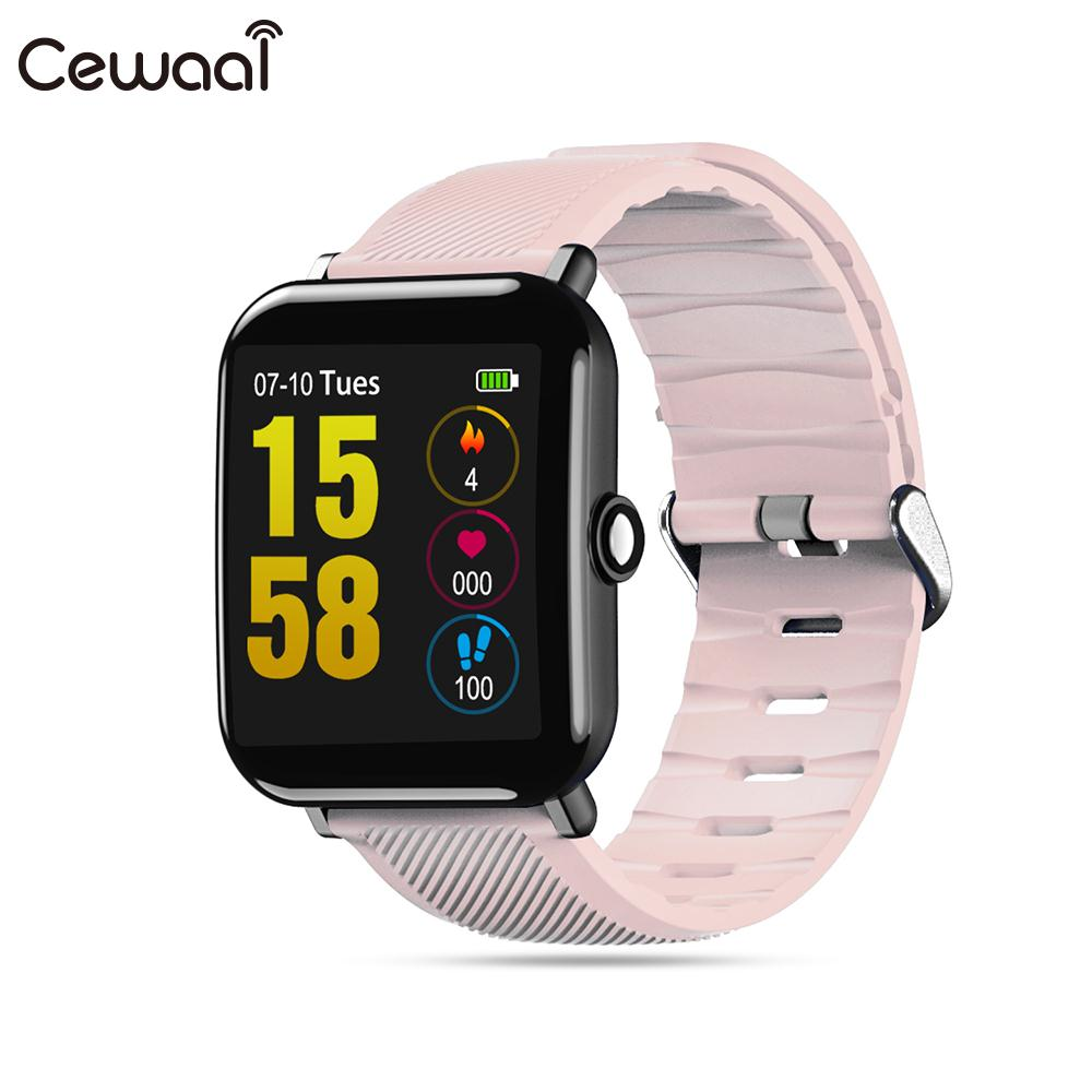 Cewaal Colorful Screen 1.3 IPS Heart Rate Monitor Smart Bracelet Pedometer Smart Watch Waterproof Fitness Smart Wristband цена