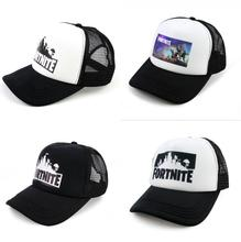 56a5772af48dc BONJEAN Game Fortnite Battle Royale Print Baseball Hat Boys Girls  Adjustable Caps