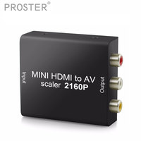 Portable Audio DAC HDMI To CVBS Decoder Support 4Kx2K With USB Cable Support NTSC HDMI 1