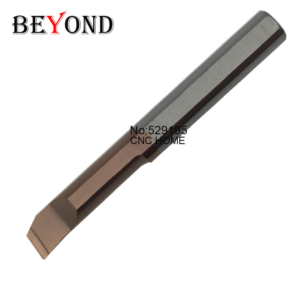 BEYOND MTR MTR2R0.15 L10 MTR3R0.2 L15 MTR4R0.2 L15 MTR5R0.2 L22 MTR6R0.2 L22 Boring Solid Carbide Tools Small Bores CNC Blade