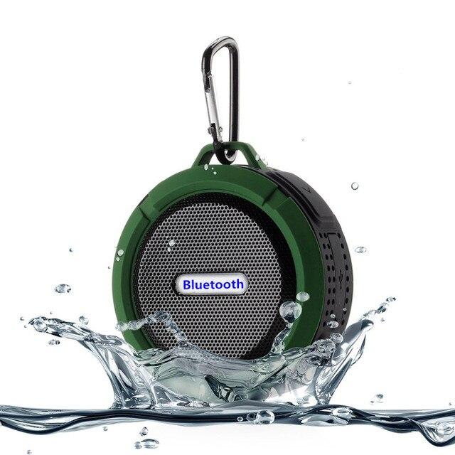 Душа Динамик C6 открытый Водонепроницаемый Беспроводной Bluetooth автомобиля Динамик присоски TF карты совместимый Смартфон компьютер