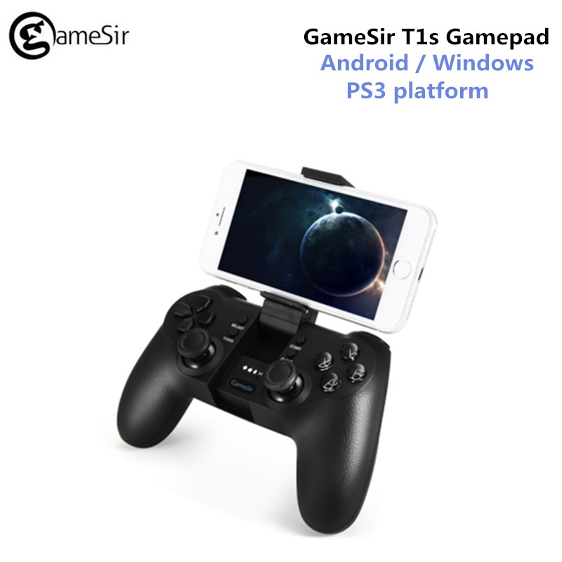 GameSir T1s Bluetooth Wireless Gaming Controller Gamepad Telescopic for Android/Windows/VR/TV Box/PS3