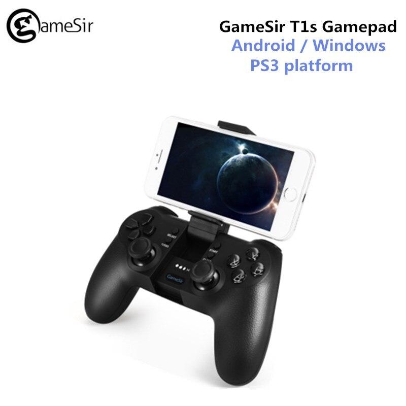 GameSir T1s Bluetooth Sans Fil Contrôleur de Jeu Gamepad Télescopique pour Android/Windows/VR/TV Box/PS3