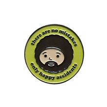 Bob Ross Enamel Pin(China)