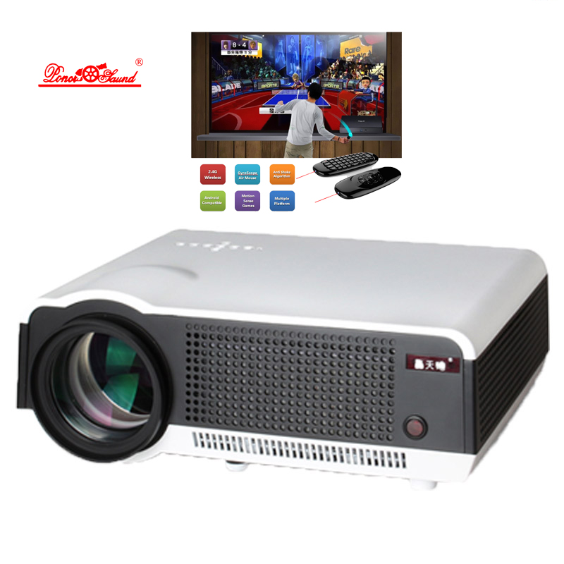 5500 Lumens Smart Lcd Tv Led Projector Full Hd Support: LCD Video 5500 Lumens Projector Smart Android Wifi