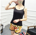 new 100% pure silk female leggings Intimate soft comfortable leggings loose  leggings Silk shorts real silk home pants-b185-1