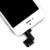 100% testado branco/cor preta para iphone 5s display lcd com tela de toque digitador assembléia completa + botão home + câmera frontal