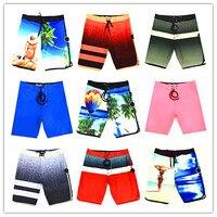 Spring Summer 2019 Brand Phantom Men Beach Board Shorts Swimwear Bermuda 100% Quick Dry Mens Bathing Shorts Elastic Swimtrunks