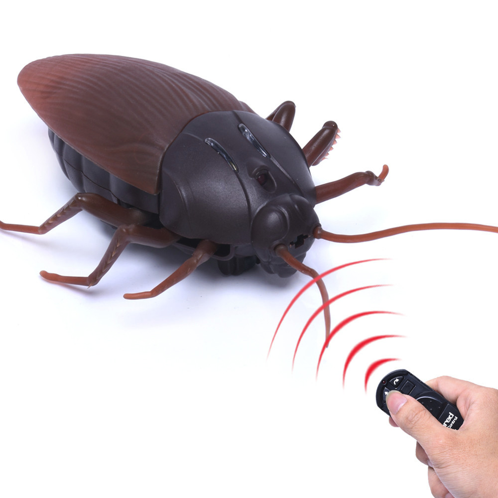 New High Simulation Animal Cockroach Infrared Remote Control Kids Toy Funny Prank Realistic RC Gift Drop Shipping smartfit 3.0 activity tracker