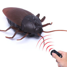 New High Simulation Animal Cockroach Infrared Remote Control Kids Toy Funny Prank Realistic RC Gift Drop Shipping(China)