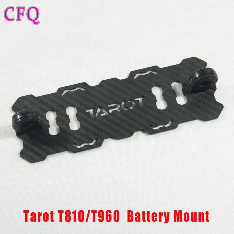 Tarot kit T810 960 Battery Mount plate with quadcopter frame Diy Foldable carbon fiber Professionals parts RC drones kit rc qav250 diy carbon fiber quadcopter multirotor kit