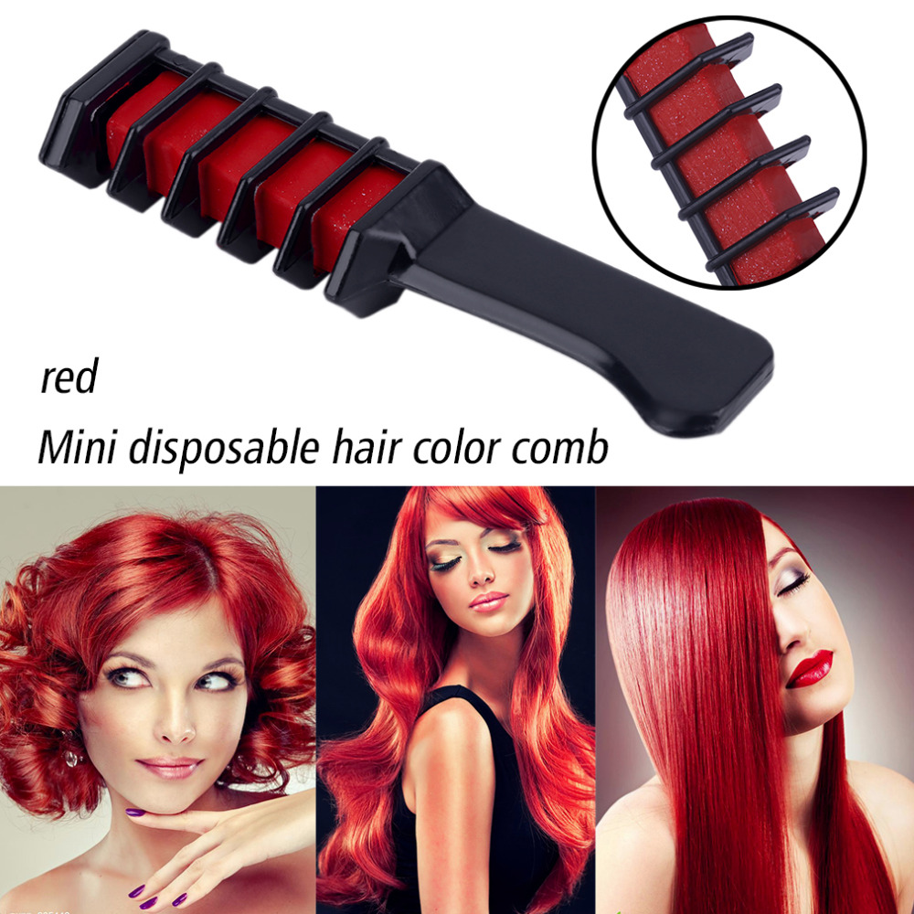 Mini Disposable Personal Salon Use Hair Dye Comb Professional Hair