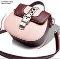 Fashion Little Handbag Women Shoulder Bag Joker Saddle Bag Aslant Bag Female PU Leather Women's Bags