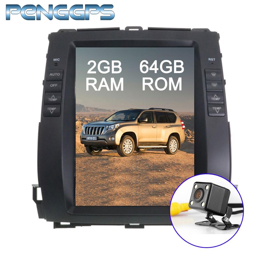 2G 64G Car GPS Navigation DVD Player for Lexus GX470 for Toyota Land Cruiser Prado 120