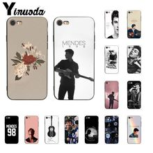 Yinuoda Singer Shawn Mendes Magcon Pattern TPU Soft Phone Case for iPhone X XS MAX  6 6s 7 7plus 8 8Plus 5 5S SE XR