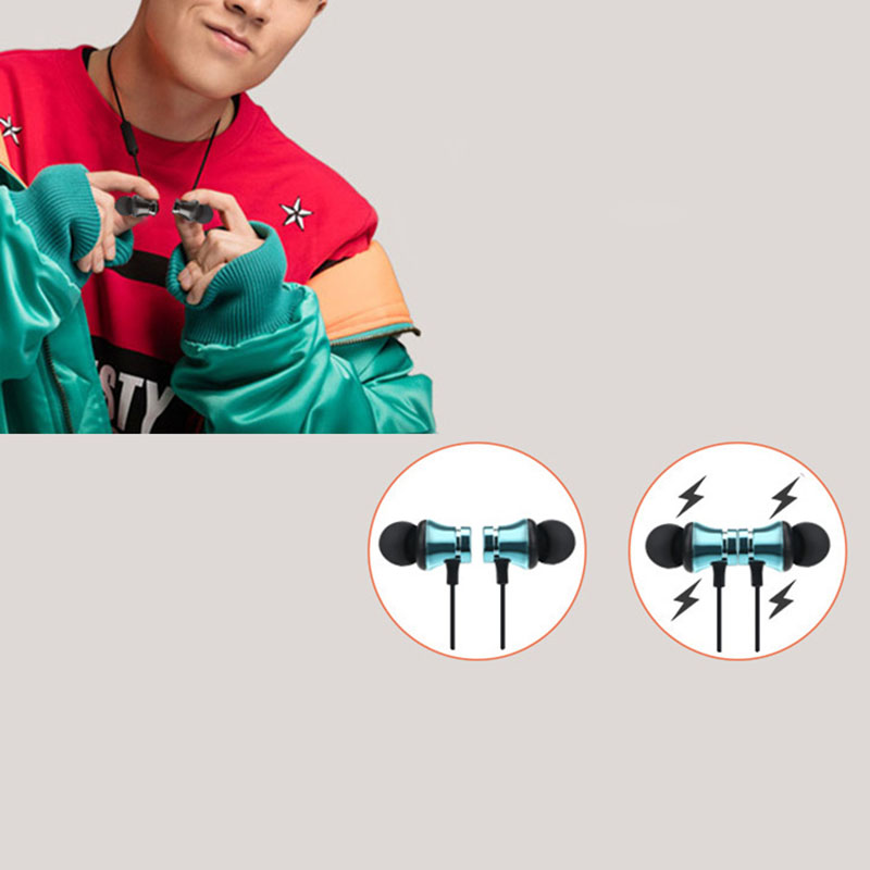 Bluetooth Headphone Earphone Headset Magnetic Stereo For Mobile Phone MP3 Tablet DU55