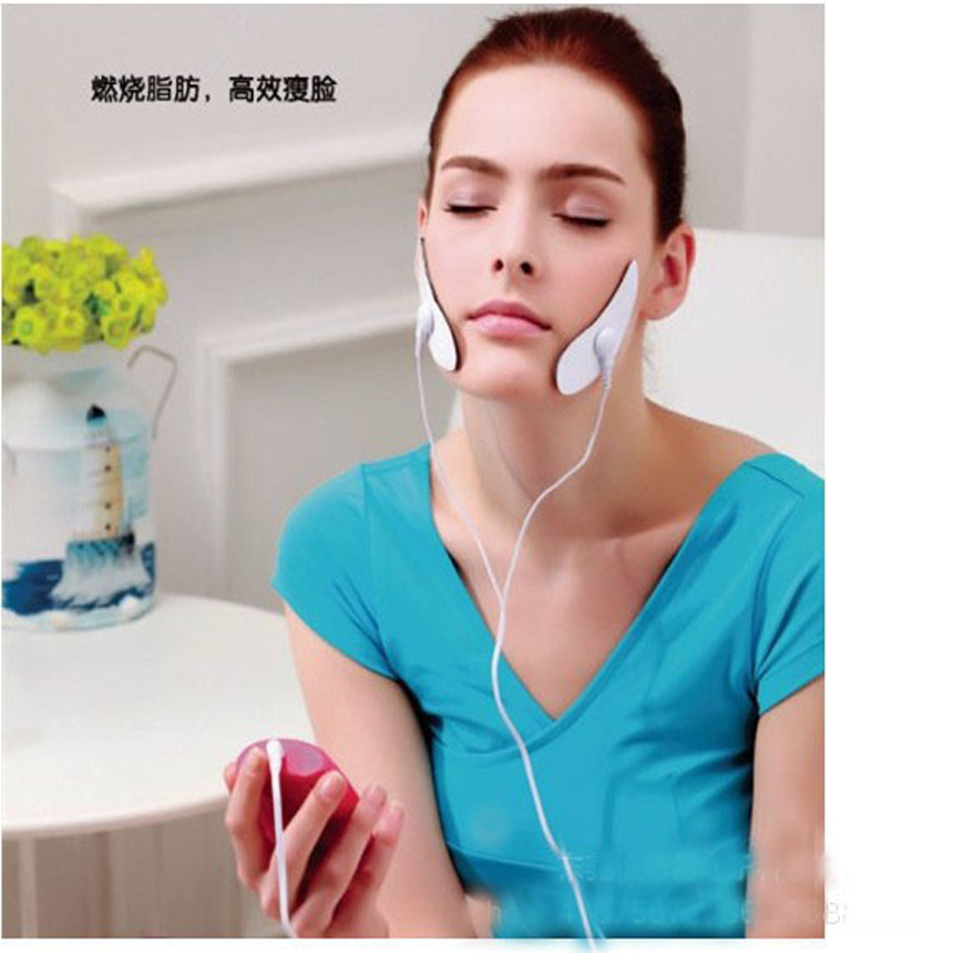 25 Sets/Lot FACE EMS POKE SLIM MUSCLE TONER Pulse Burn Fat Thin Body Electric Hand & Face Slimmer Massager