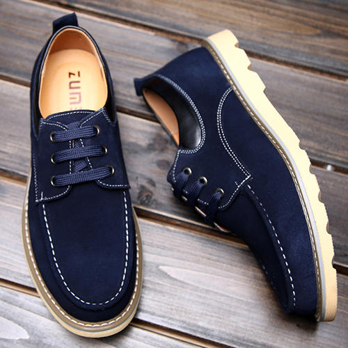 New Men Shoes Fashion PU Leather Casual Shoes Breathable British Men's Flat Shoes Loafers Low Lace Up Zapatos Hombre Size 38-45 casual shoes men breathable new fashion men dress shoes good quality working shoes size 38 44 aa30064