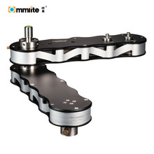 4 times distance Multiplied camera slider Track Rail Straight Line Arc Line panning linear movement for smartphone dslr cameras