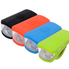 3W LED USB Charging MTB Bike Light Silica gel Waterproof Bicycle Front Light Bike Lamp 4 color Bicycle Accessories