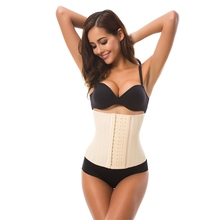 Latex Waist Trainer Slimming Belt Shapewear Body Corset Women Steel Boned Cincher Shaper