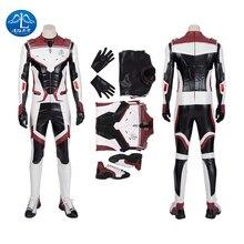 Captain America Iron Man Cosplay Quantum Warfare Garment Halloween Costumes Marvel Movie Avengers: Endgame Superhero Jumpsuit