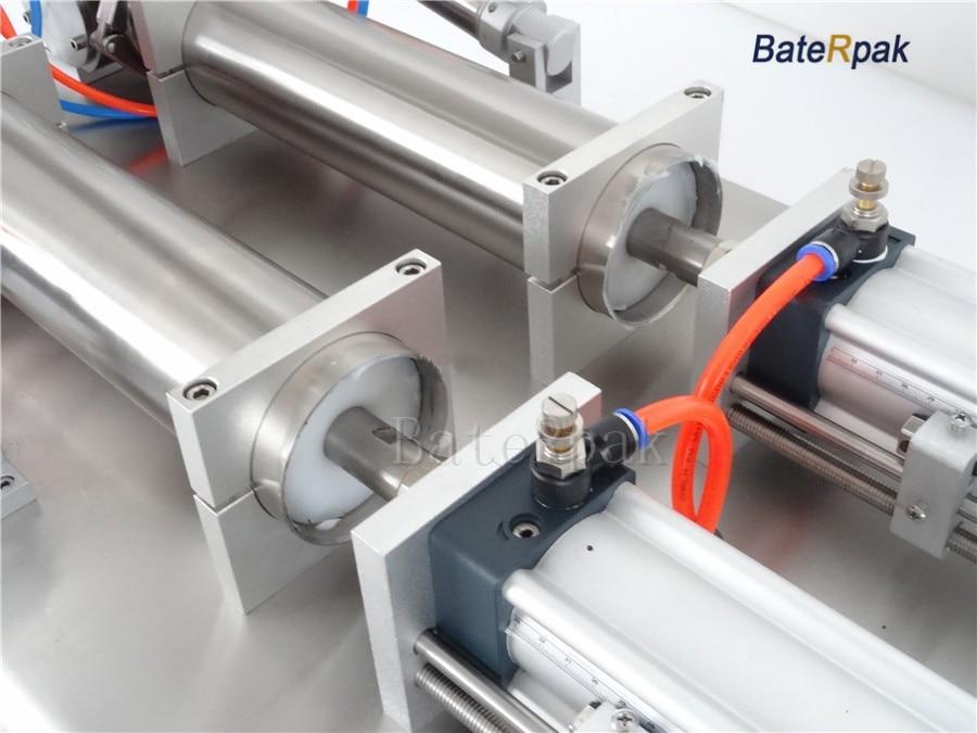 G2 rozsdamentes acél vízszintes pneumatikus folyadék töltőgép, - Elektromos kéziszerszámok - Fénykép 4