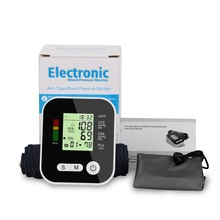 купить Automatic Digital Upper Arm Blood Pressure Monitor LCD Home Healtcare Heart Beat Meter Machine Tonometer with/without Voice Home по цене 1311.74 рублей