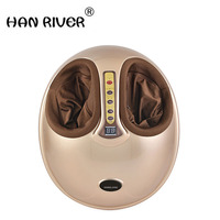HANRIVER 220V Electric Antistress Foot Massager.cheap foot massage machine Infrared foot care.device with Heating & Therapy
