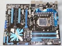 Placa-mãe original asus P7P55D-E ddr3 lga 1156 p55 16 gb para i5 i7 cpu usb2.0 usb 3.0 p55 desktop motherborad