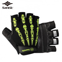Santic Cycling Gloves Breathable Motorcycle Road Bicycle Bike Gloves Guantes Ciclismo Luva Bicicleta 2018