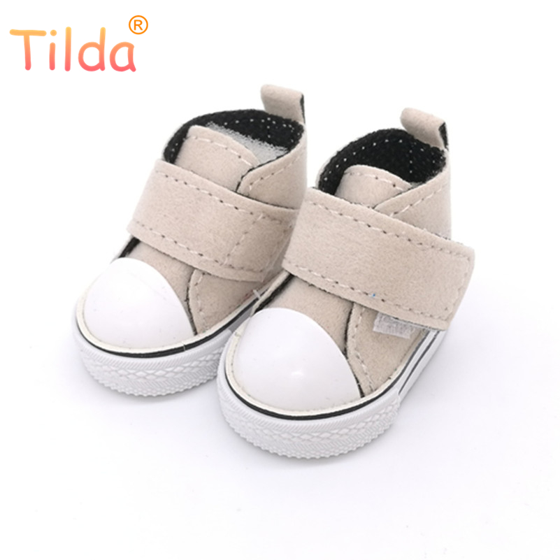 5cm Mini Doll Shoes For BJD Dolls,Casual Toy Shoes for 1/4 Bjd Doll Footwear Shoes for Handmade Sewing Tilda Dolls one pair handmade chinese ancient doll tang beauty princess pingyang 1 6 bjd dolls 12 jointed doll toy for girl christmas gift brinquedo