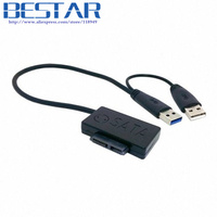 USB 3 0 To 90 Degree Angled Type Slimline SATA 7 6 13Pin CD DVD ROM