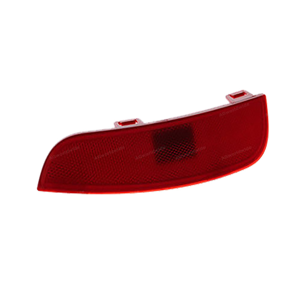 Image 4 - Red Rear Bumper Reflector Lamp Light Lens Left Right 30763345 30763346 For Volvo S40 V50 2008 2009 2010 2011 2012 2014 2015Signal Lamp   -