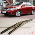 Aerodynamic Frameless Rubber Windshield Wipers Blades For U Hook Honda City
