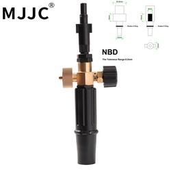 MJJC стандартная и более легкая версия Black and Decker, Makita, пенопласт двухкратная, AQT серия, AR Blue, Snow Foam Lance для skil 0760