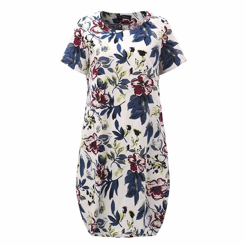 Hot-Sale-2017-Summr-ZANZEA-Women-Vintage-Floral-Print-Dress-Short-Sleeve-Loose-Casual-Midi-Sexy