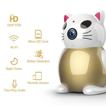 720P Lucky Cat WIFI Camera 2