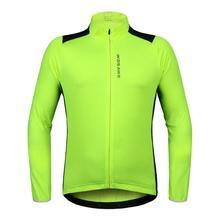 Длинный рукав для мужчин Велоспорт Джерси куртка сзади светоотражающий для горного велосипеда велосипед велосипедный спорт Джерси куртка пальто эластич