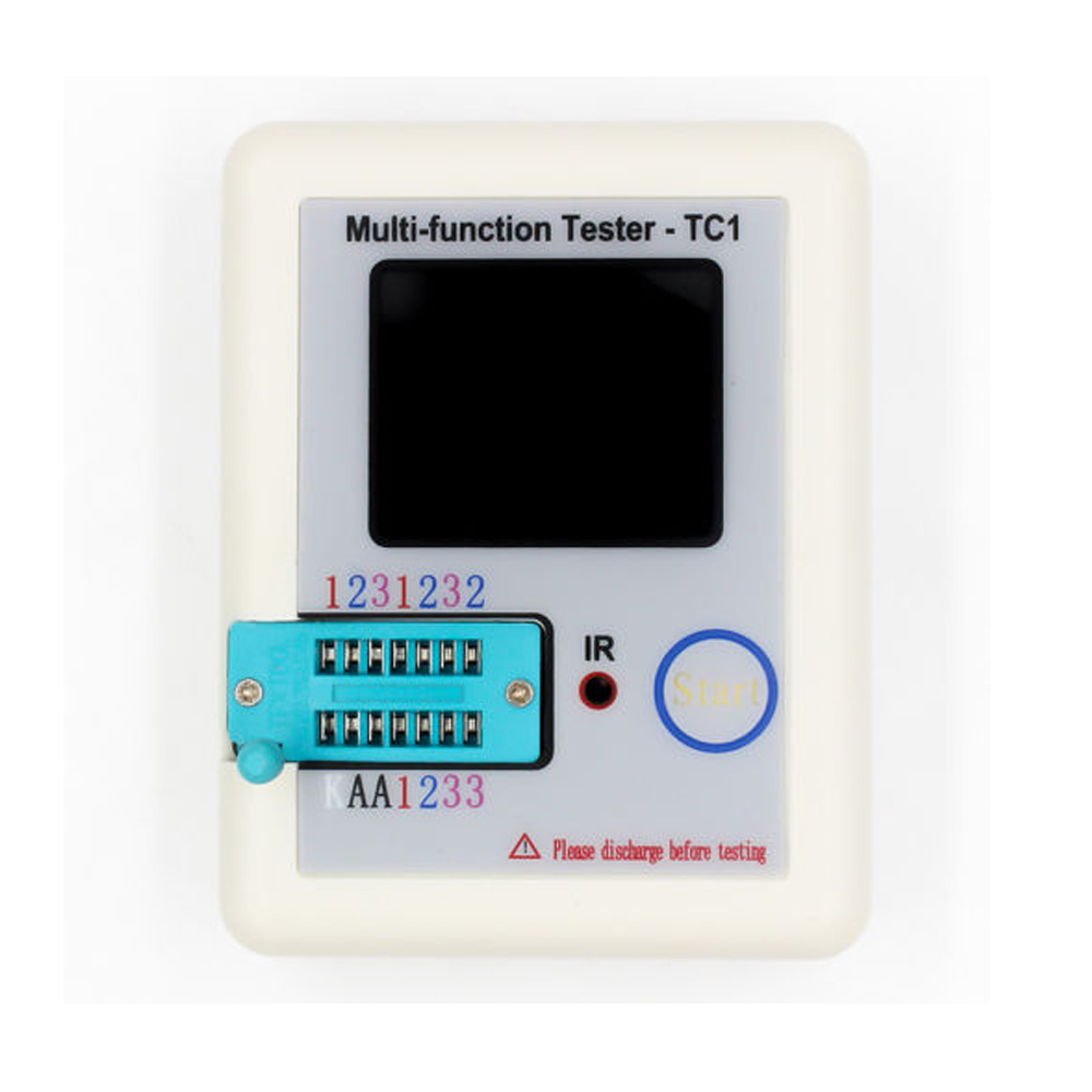 LCR-<font><b>TC1</b></font> TFT Backlight Transistor <font><b>Tester</b></font> <font><b>Multi</b></font>-<font><b>functional</b></font> Screen Display image